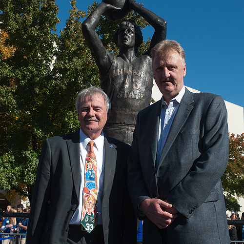 Bill Wolfe and Larry Bird